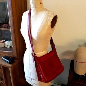 Vintage COACH  Messenger Hobo Bag Purse MADE USA